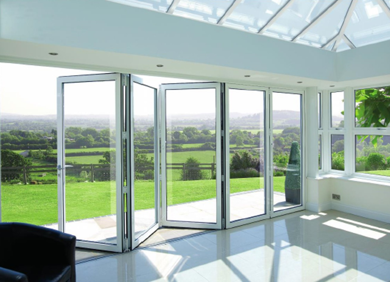 aluminium bifold doors premier bi folding doors. Black Bedroom Furniture Sets. Home Design Ideas